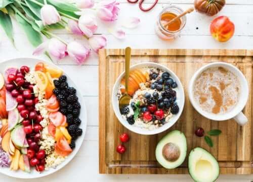 Et godt balanceret morgenmadsbord