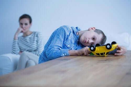 Psykisk sygdom hos børn og dets symptomer