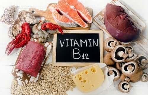 Fødevarer med vitamin B12