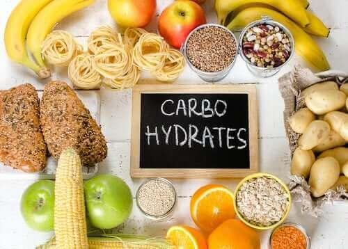 Anbefalede kulhydrater, der ikke feder