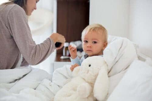 Hypotermi hos børn: Hvad skal man gøre?