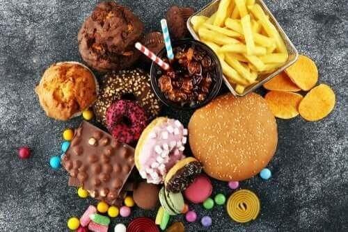 Usunde fødevarer svækker en sund galdeblære
