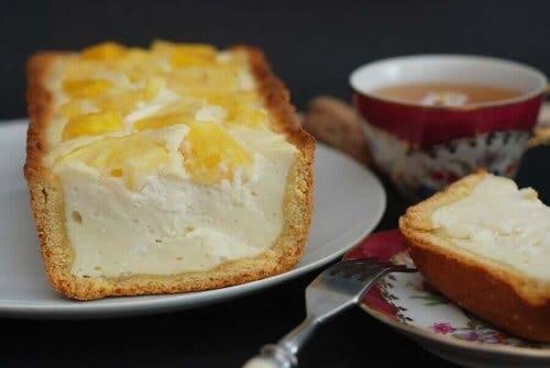 Lækker cheesecake