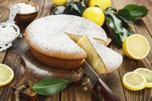Ingefærkage med citron
