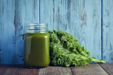 Creme af grønkål og spinat - et skud af vitaminer