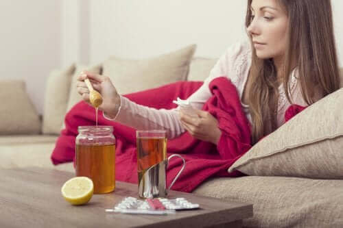 Tre midler med honning mod influenza
