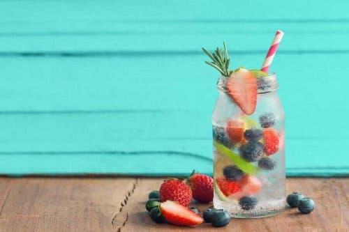 Eksempel på drikkevarer med frugtsmag