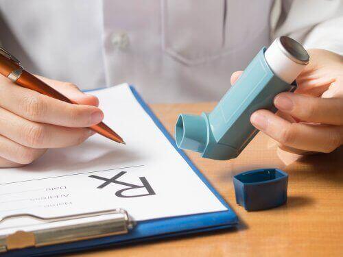 Ipratropiumbromid i inhalator