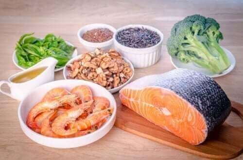 Fødevarer med omega-3 er godt til at holde højt kolesteroltal væk