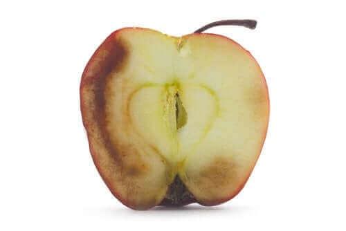 Konsekvenserne ved at spise oxideret frugt
