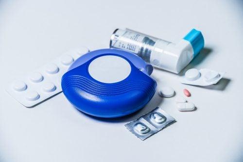 Forskellige typer af astmamedicin