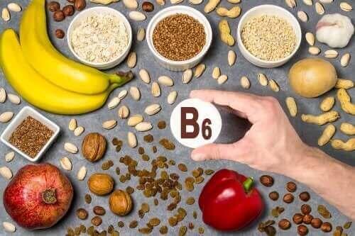 Kilder til B6-vitaminer