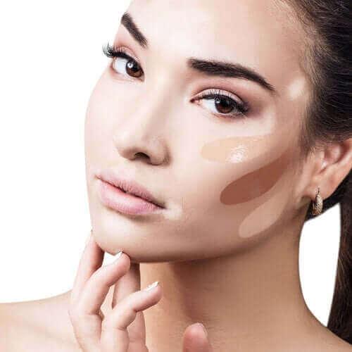 Korrigerende makeup indeanfor dermatologi