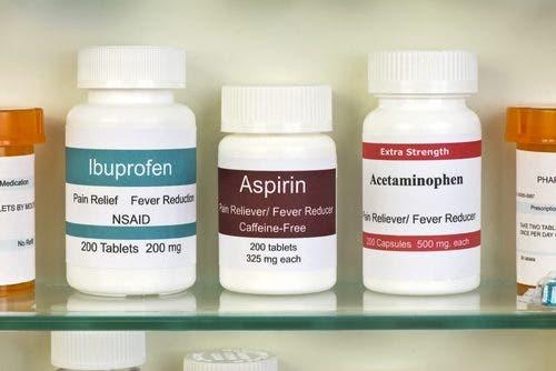 Smertestillende medicin, blandt andet meloxicam