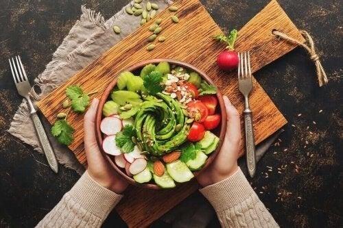Flot og lækker salat