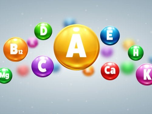 Vitaminer vises i bobler