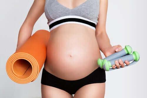 Motion og graviditet: Ting, man bør overveje