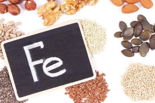 Fødevarer med jern kan modvirke jernmangel