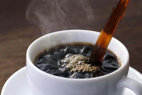 En kop kaffe symboliserer videnskaben om kaffe
