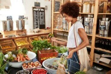 Farven på fødevarer og deres næringsmæssige værdi