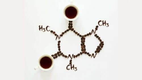 Den kemiske sammensætning for koffein