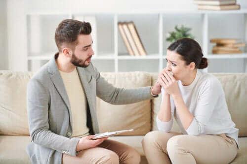 Symptomer på posttraumatisk stresslidelse (PTSD)