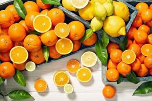Citrusfrugter kan hjælpe med at undgå mangel på vitaminer