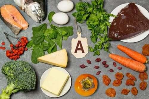 Fødevarer med a-vitamin kan forhindre mangel på vitaminer