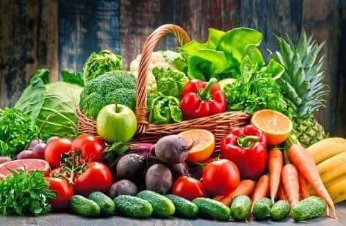 Masser af frugter og grøntsager