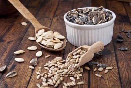 Kerner til brød med lavtkulhydratindhold