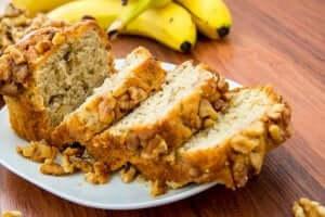 Klassisk brød med banan
