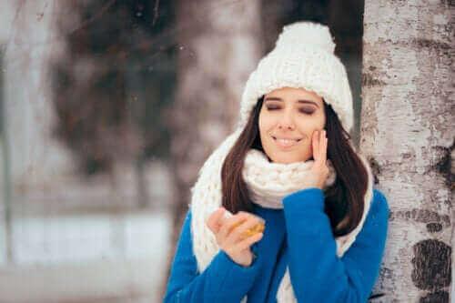 Vinterrutine til fedtet hud