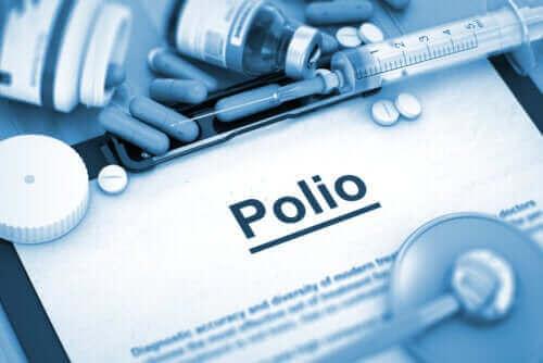 De forskellige typer af poliomyelitis