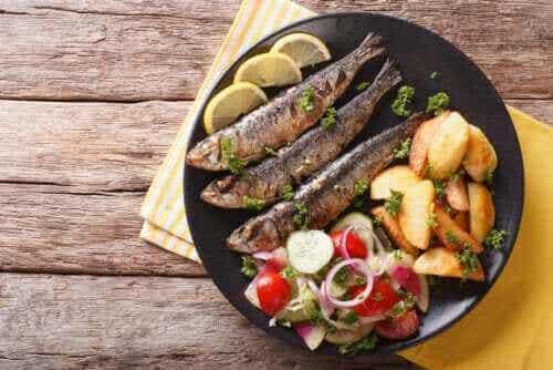 De tre primære fordele ved sardiner