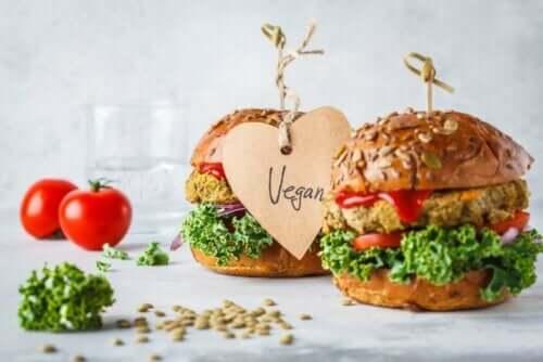 Veganske burgere