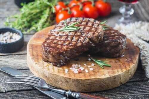 Hvor meget kød bør man spise om ugen?