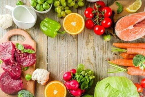 Fødevarer til en fleksitarisk kost
