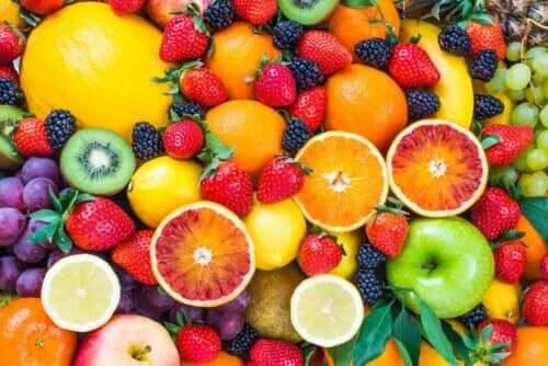 Frugter er gode eksempler på dessert i kosten
