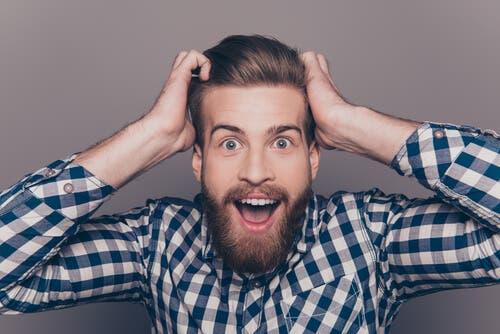 Forekomsten af ansigtshår er mere fremherskende hos mænd