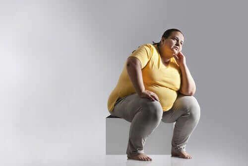 Overvægtig kvinde