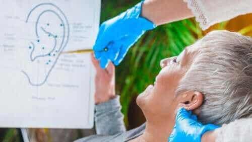 Stimulation af vagusnerven gennem øret