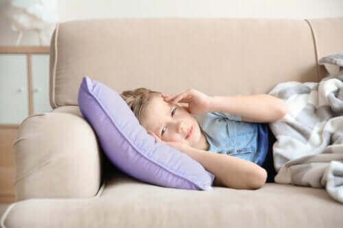 Symptomer og behandling af migræne hos børn