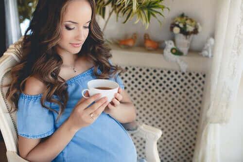 Bør du drikke te under graviditeten?