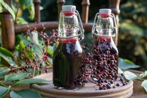 Hyldebærsirup: Fordele, forbehold og tilberedelse