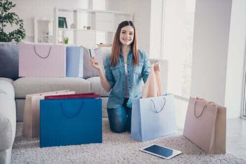 4 tegn på, at du er afhængig af at shoppe