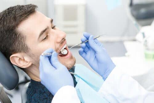 Bakterier, der kan forårsage huller i tænderne