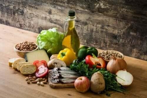 Fødevarer i Middelhavskost