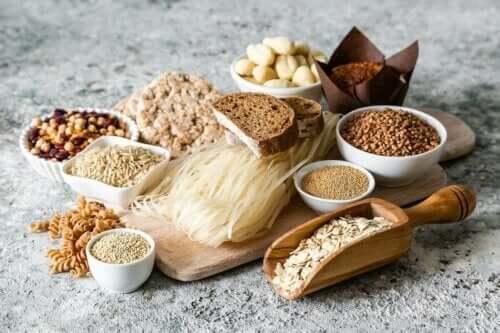 Fødevarer med gluten