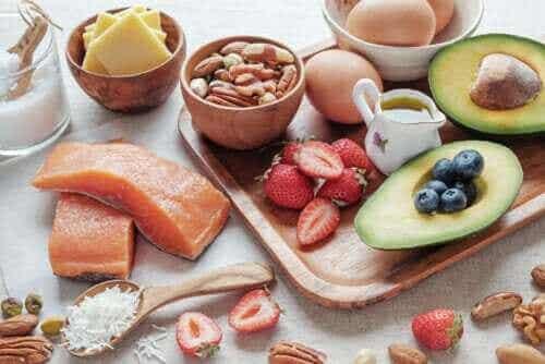 Liste over godkendte fødevarer til ketokuren