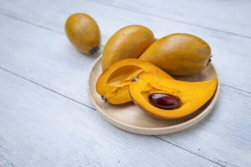 Den smukke frugt bruges mest i søde retter